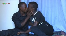 African Twinks Kissing