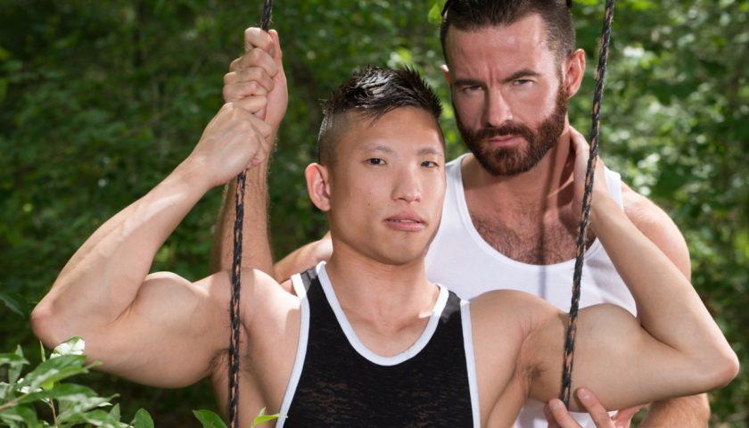 Vietnamese twink Jessie Lee and Brendan Patrick