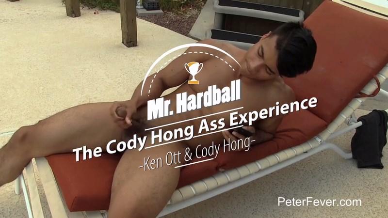 Kenn Ott prepping for Chinese twink Cody Hong