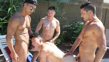 Asian Sex Party withe Jessie Lee and Ken Ott