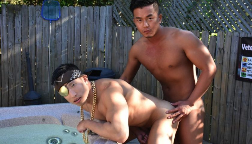 Jessie Lee and Alex Chu