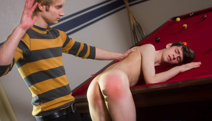 Caleb Gray spanked
