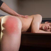 Max Carter spanking Caleb Grey