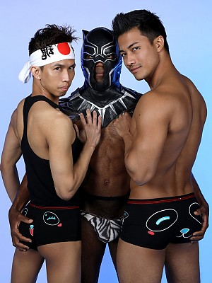 Ken Ott, Osiris Blade and Levy Foxx