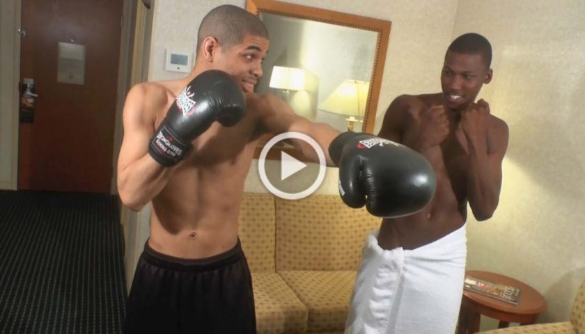 SPARRING MATCH BlackBoyAddictionz - Mello and Saint